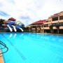 Swimming Pool with water slides